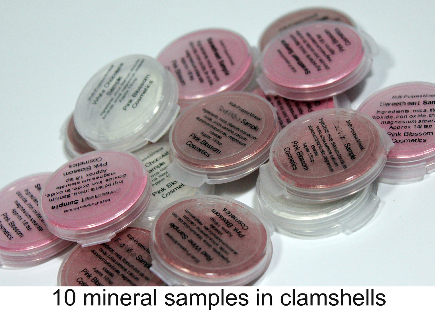 Mineral Eye Shadow Samples Pick Colors Your